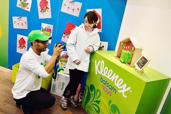 Campagne Kleenex balsam days