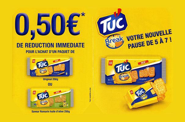 campagne Tuc breack Affichette