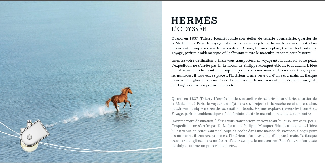 livret by paris duty free page Hermes