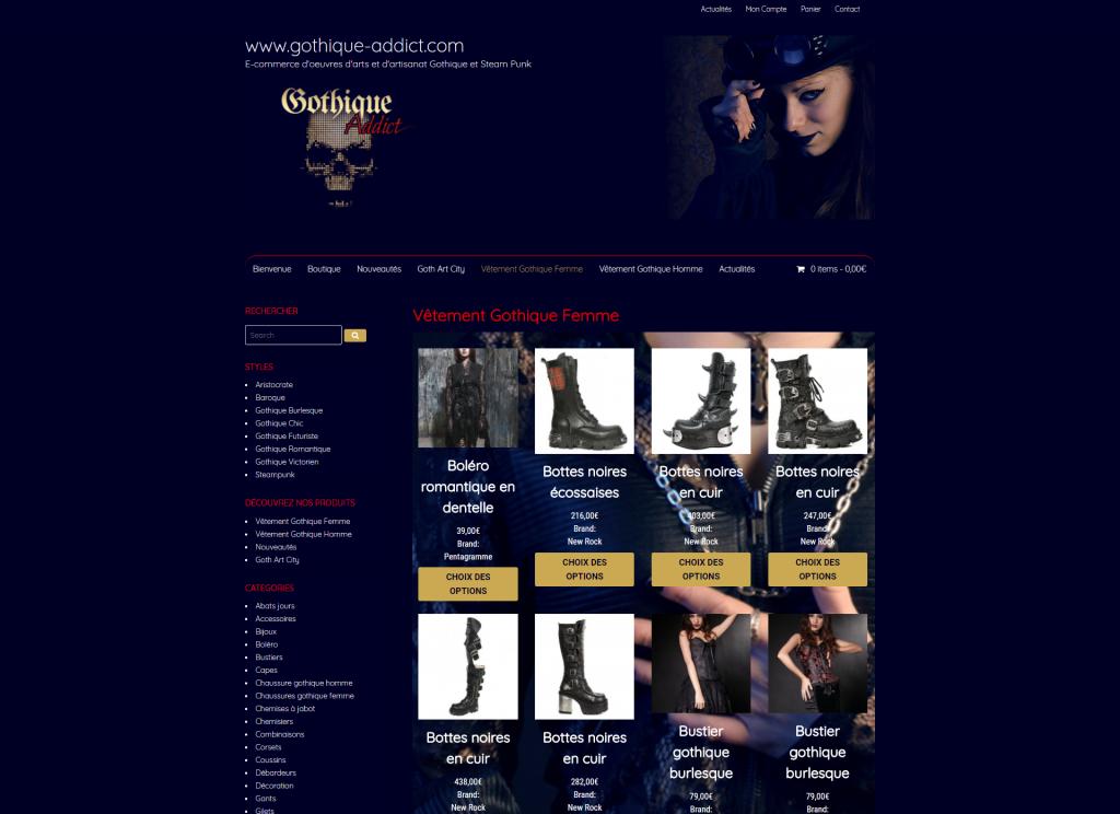 screenshot-gothique-addict.com
