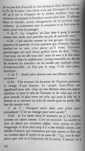 interview de Gildas Milin par Garance Hayat pour le magasine Coup de Théâtre. (1)