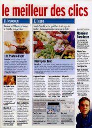page interne de Web Magazine pour lequel Garance Hayat était Pigiste. (4)